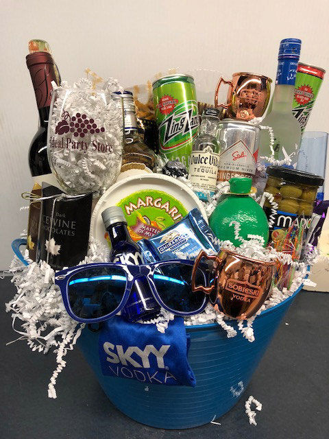 skyy custom gift basket - Bay City MI